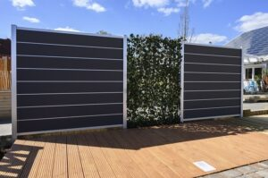 Sichtschutz-Zaun aus hochwertigem WPC